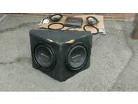 Car Speakers + Amp + Subwoofer