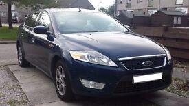 2009 Ford Mondeo Zetec 1.8 TDCi, low miles and cheap to run, MOT until April 2018