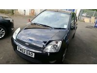 Black Ford Fiesta Spares or Repairs/Breaking