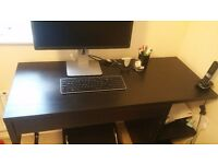IKEA MICKE DESK BLACK