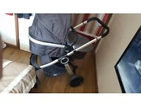 chicco urban pushchair and carseat