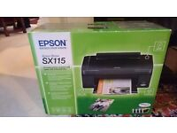 Epson Stylus SX115 colour ink jet printer, scanner and copier