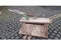 Clay Pigeon Trap on Sturdy Horse/Bench
