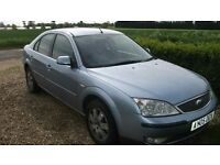 FORD MONDEO 2.0 TDCI, 2005, FULL 12 MONTH MOT, USED DAILY, PLEASE READ DESCRIPTION.