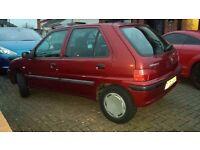 Peugeot 106 1.5 diesel 51reg 2001