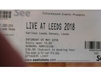 2 Live at Leeds 1018 tickets.