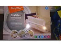 BRAND NEW baby bed guard / rail (extra long width)