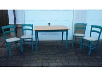 John Lewis table and four chairs