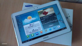 """Samsung Galaxy Tab 2 GT-P5110 10.1"""" 16GB White Tablet Boxed with charger, case and keyboard"""