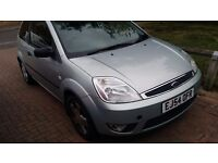Ford fiesta, details say green but its silver, perfect first car