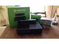 xbox one with kinect and games QUICK SALE