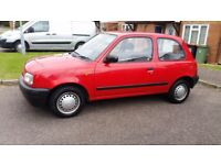 NISSAN MICRA 1.0 LITRE PETROL, MOT TILL MAY 2018, NO RUST OR DENT SERVICES HISTORY, GOOD CONDITION