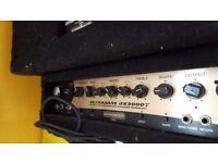 Behringer BX3000t Ultrabass 300w head & cabs