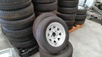 """13"""" x 4.5"""" Ford Tyre & Rim - Caravan, Camper or Boat Glenorchy Glenorchy Area Preview"""