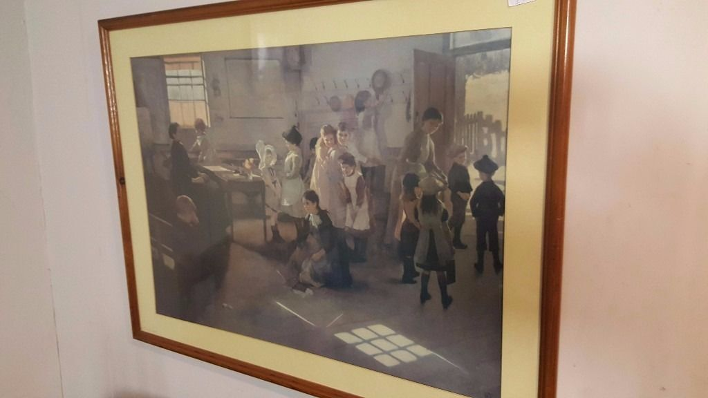 Wood framed Victorian School Scenein Bearsden, GlasgowGumtree - Victorian school scene. W 92cm H 67cm Please see all of our ads! Contact us on 0141 954 2323 (or after 6 pm please text on 07838974532)