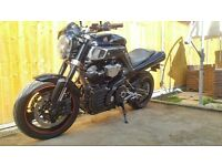2009 Yamaha MT 01 MT01 MT-01 Mk2 Black, Mint Condition, Akrapovic, Rizoma, loads of extras.