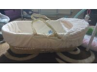 2 Brand New Moses Baskets
