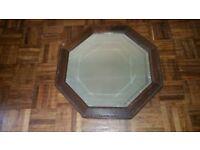 Wonderful Antique Hexagonal Mirror