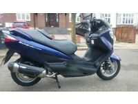 Suzuki Burgman UH125 2009, 59 reg, new service and MOT