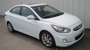 2014 Hyundai Accent GLS SEDAN AT SUNROOF