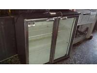 2 door bar fridge