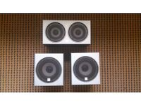 3 Ministry of Sound Speakers, Really good Condition, 2 Single and 1 Twin