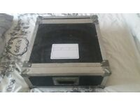 NEWMARK DUEL CD PLAYER WITH FLIGHTCASE