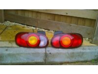 A Pair of Rear Lights for a Mazda Mx5 Mk2 & Mk2.5.