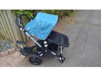 bugaboo cameleon 3 pushchair light blue