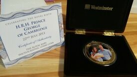 Westminster Royal Baby $5 Coin
