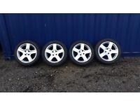 "Peugeot challenger 17"" Alloy Wheels"