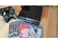 PlayStation 4 ps4 and games