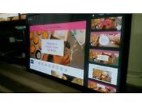 Panasonic 50 inch screen full hd lcd plasma free view TV £ 160