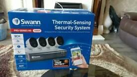 Brand new swann security hd cctv cameras