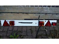 Lights Board for Trailer Towing Lights Tail Lamps Caravan All Working