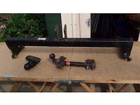 Tow bar+ roof bars+rear bumper