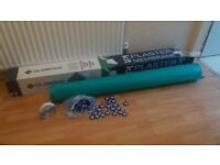 OLDROYD waterproof Plaster membrane 1.5m x 2.5m with 57 plaster plug fixings & jointing tape