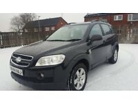 Chevrolet CAPTIVA (7 Seater ) Diesel + MOT till DEC-2018