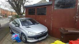 Peugeot 206 convertable( spares only)