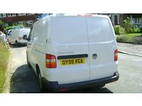 Very clean VW T5 Transporter, Full service history, Alloy wheels, Very clean and well looked after