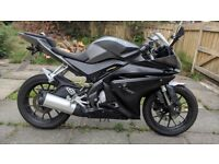 Yamaha YZF R125 excellent condition & extras