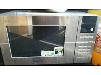 Chrome microwave, kettle and toaster £60
