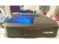 SYBER VAPOR GAMING PC / GAMING CONSOLE i5 3.2Ghz 8GB RAM 4GB GRAPHICS 1TB SSD HDD