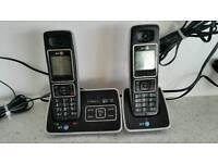 BT Twin Telephones