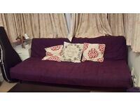 Clearance! Bargain : Ikea Karlaby Sofa Bed £40, Extendable Coffee table £20 and Bedside Table £10