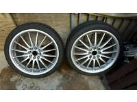 17 inch multi 4 stud alloy wheels