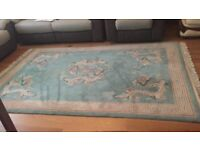 Vintage Chinese Hand Woven Rugs