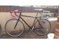 Viking fixed gear bike fixie bicycle