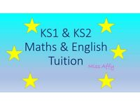 One-to-One KS2 Maths & English Tuition