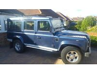 2005 landrover defender 110 2495 td5 xs county station wagon 9 seats 4x4 estate utility